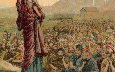 Deus manda Moisés numerar as tribos