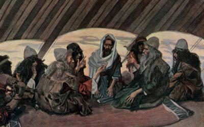 As tribos de Rúben e Gade pedem a terra de Gileade