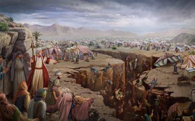 A rebelião de Corá, Datã e Abirão