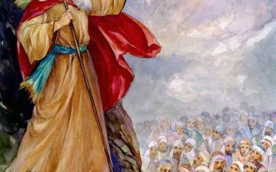 O discurso de Moisés na planície do Jordão
