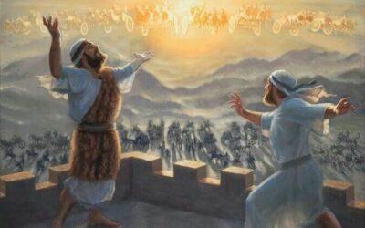 Eliseu faz flutuar o ferro de um machado; Eliseu adivinha os conselhos do rei da Síria; O Servo de Eliseu vê o exército do Senhor; Eliseu prediz a abundância de víveres; A sunamita volta para a sua terra