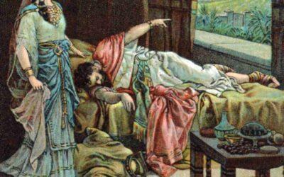 Nabote recusa vender a sua vinha a Acabe; Jezabel ordena a morte de Nabote; Deus manda Elias ameaçar a Acabe; Acabe faz aliança com Josafá; O reinado de Josafá e a sua morte