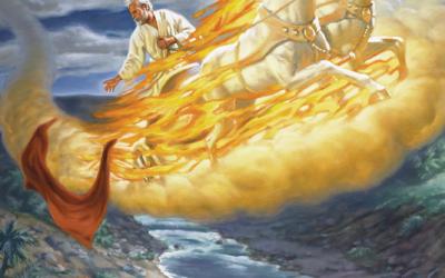 Moabe revolta-se contra Israel, e Acazias adoece; Fogo do céu consome cem homens; Elias é elevado ao céu; Eliseu, o sucessor de Elias; Eliseu salva três reis e os seus exércitos