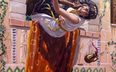 Jeú é ungido rei de Israel e mata a Jorão e a Jezabel; Jeú extermina a casa de Acabe; Jeú encontra a Jonadabe e mata os servos de Baal; Atalia manda matar a família real, Joás escapa e é ungido rei