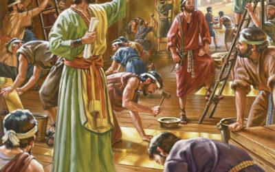 Salomão edifica o templo; Salomão edifica um palácio; Diversas obras para o templo