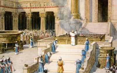 Dedicação do templo; Salomão abençoa ao povo; O Senhor aparece a Salomão pela segunda vez; O tributo que Salomão impôs