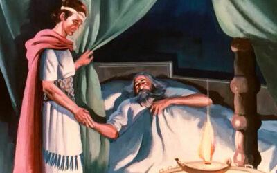 Davi apresenta a Salomão como seu sucessor; Davi dá a Salomão a planta do templo; As ofertas, a oração e a morte de Davi; As riquezas de Salomão; Salomão pede a Deus sabedoria