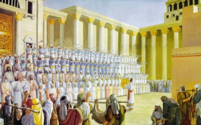Descendentes de Levi; Cantores levitas; Descendentes de Arão; As cidades dos levitas;