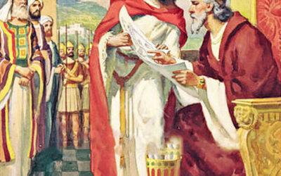 Davi faz preparativos para edificar o templo; Ordens de Davi a Salomão; Os turnos e funções dos levitas; Os turnos dos sacerdotes
