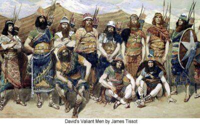 Habitantes de Jerusalém depois do cativeiro; A derrota de Israel e a morte de Saul; A sepultura de Saul; Davi é ungido rei; Davi conquista a Sião; Os valentes de Davi