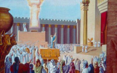Salomão fala ao povo; Salomão ora a Deus; A glória de Deus enche o templo; A aliança do Senhor com Salomão; As demais atividades de Salomão
